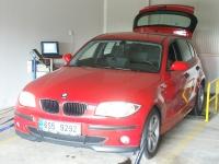 Měření - BMW 118D